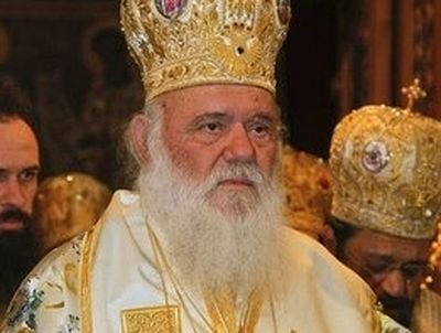 Russian Greetings to His Beatitude Archbishop Ieronymos on the anniversary of his election to the primatial See of the Church of Greece