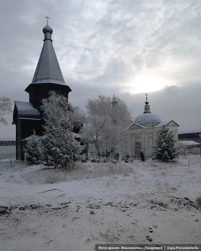 Ναός της Κοιμήσεως της Θεοτόκου στη Μονή του Πριλούκι