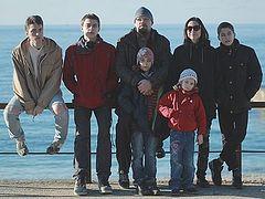 Непарадный автопортрет неидеальной многодетной семьи