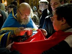 Таинства Церкви. Евхаристия (+ВИДЕО)