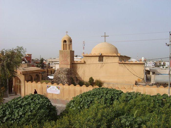 Анкава - христианский город к северу от Эрбиля