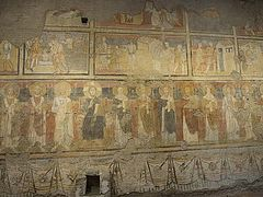 'Sistine Chapel of the Early Middle Ages' buried for a millennium by an earthquake reopens
