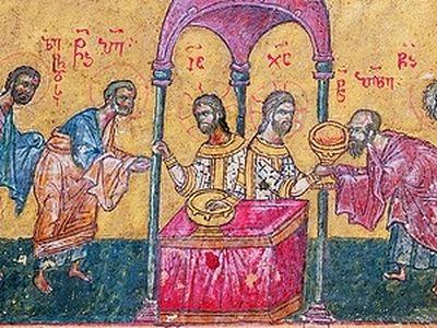 Ч. 2. Последовательность и символическое значение литургии . Таинство причащения / Православие.Ru