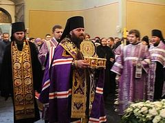 More than 50,000 faithful in Moscow venerated the relics of St. Luke of Crimea