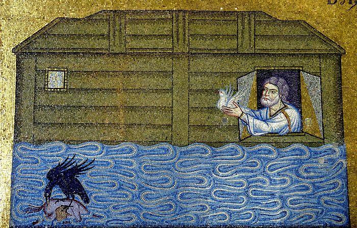 Ной выпускает голубя