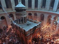 King Abdullah II of Jordan funds Holy Sepulchre restoration work