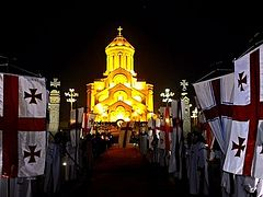 Poll confirms Georgians' support of Orthodox Church, traditional values