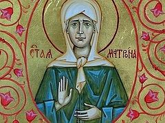 A Miracle of Blessed Matrona of Moscow