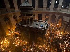 Meet the Russian priest investigating the 'miraculous' Holy Fire of Jerusalem