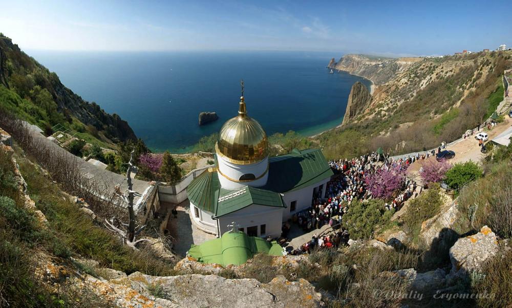 Монастырь вмч. Георгия. Балаклава, Крым