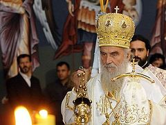 Patriarch calls on Serbs to stay in Kosovo