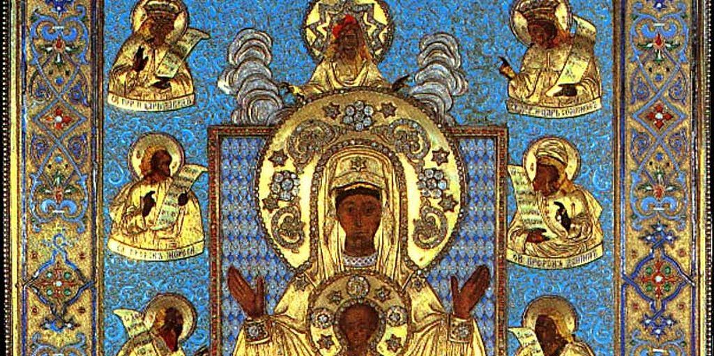 Чудесное обретение иконы «Знамение». Икона «Знамение» Курско-Коренная / Православие.Ru
