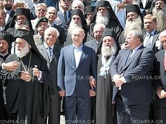 President Vladimir Putin met with special honor on Mt. Athos