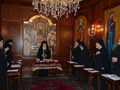 The Holy Synod of the Ecumenical Patriarchate on the Issue of Qatar