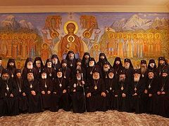Meeting of the Holy Synod of the Church of Georgia on the Upcoming Council