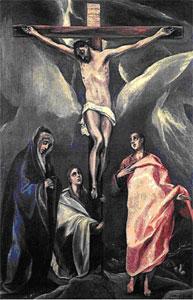 Эль Греко «Распятие, 1588 год