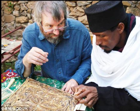 The incredible relic has been kept ever since in the Garima Monastery near Adwa in the north of Ethiopia