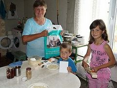 Brothers of Kiev Caves Lavra help families with many children