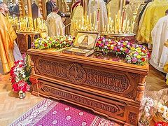 50th annivesary celebrations of the repose of St John of Shanghai and San Francisco