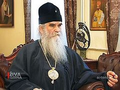 Metropolitan Amfilohije of Montenegro and Litoral did not sign controversial document at Crete