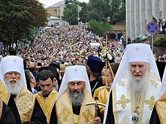 UOC MP Synod calls upon the faithful to join the all-Ukrainian cross procession for peace