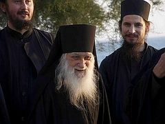 Igumen of Russian monastery on Athos dies in his 101st year