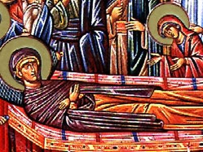 Dormition of the Righteous Anna, the Mother of the Most Holy Theotokos /  OrthoChristian.Com