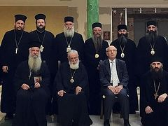Ecclesiastical Delegation from Greece Meets Patriarch and Hierarchs of the Church of Georgia