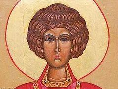 Icon of Great Martyr and Healer Panteleimon begins to stream myrrh in women's monastery in Buryatia