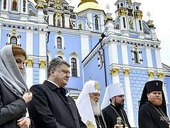 Poroshenko again raises question of autocephaly of Church in Ukraine