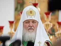 His Holiness Patriarch Kirill: Drunkenness brings great suffering to our people