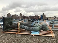 East Village's quirky rooftop Lenin statue is removed