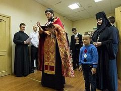 Home for young mothers blessed at Novodevichy Convent of St. Petersburg