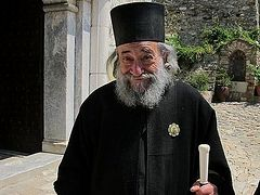 By abortion we offend God Who allowed the child to be conceived—Abbot of Dochiariou Monastery on Mt. Athos