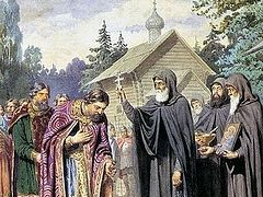 St. Sergius was a theologian in the highest sense of the word