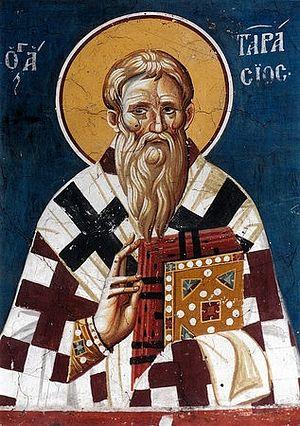St. Tarasios, the uncle of St. Photios