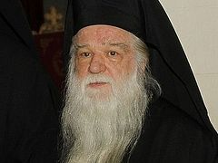 Metropolitan Ambrose of Kalavryta: I call you to battle for our faith!