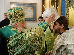 Bp. Tikhon (Shevkunov) celebrates one year of episcopal service