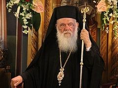 Primate of Greek Orthodox Church: Plan for de-Christianizing Europe being realized in Brussels
