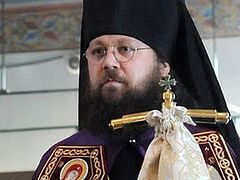"""Archimandrite Irenei (Steenberg) is Consecrated Bishop of Sacramento on the Feast Day of the Cathedral of the Mother of God """"Joy Of All Who Sorrow"""" in San Francisco"""