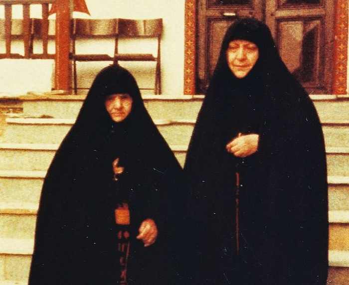 Gerontissas Theophano (left), and Macrina