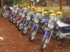 Mission accomplished! Kenyan clergy receive motorcycles as a result of the Midwest faithful's tremendous generosity!
