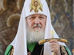 His Holiness Patriarch Kirill's homily delivered at the Cathedral of Christ the Saviour after the Divine Liturgy on 22nd Sunday after Pentecost