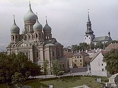 Estonian Orthodox church iconostasis and icons named cultural monument