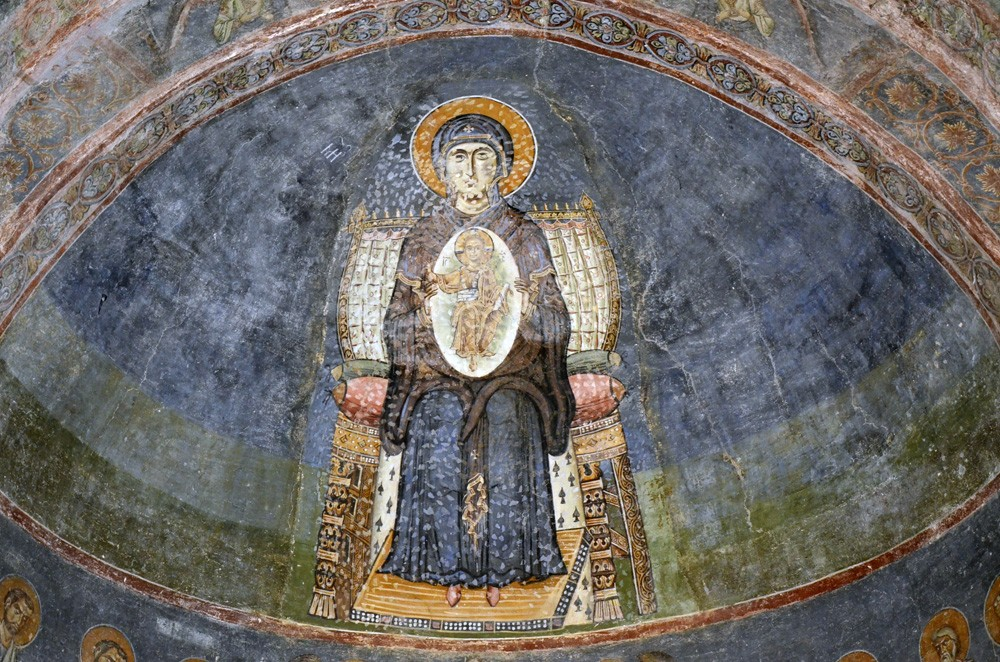 Храм св. Софии. Охрид