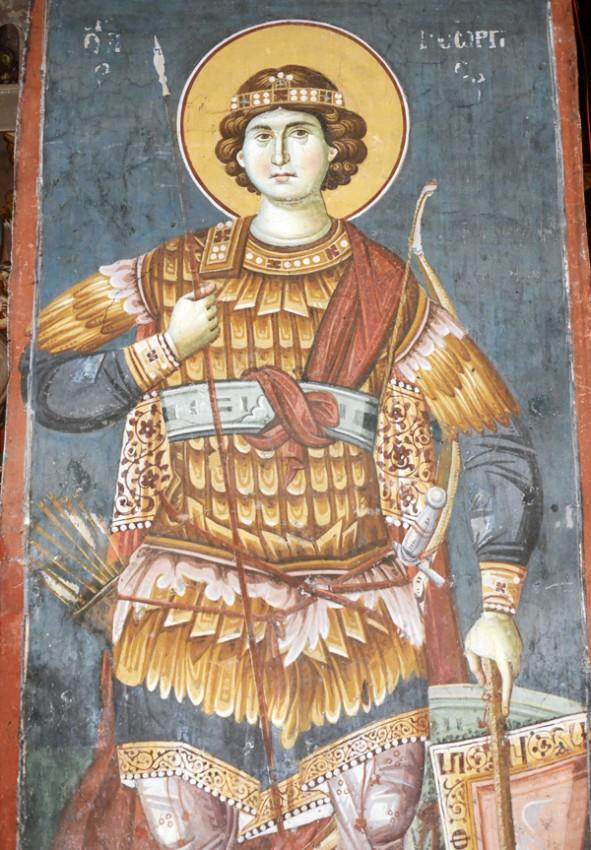 Св.вмч. Георгий. Церковь Пресвятой Богородицы Перивлептос