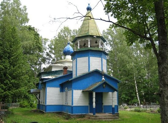 Свято - Троицкая церковь. Фото: portal.pskovlib.ru