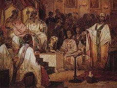 Противостояние монофелитской ереси при императорах Константине III и Константе
