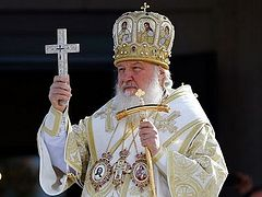 Patriarch Kirill believes the word 'celebrations' inappropriate to 100th anniversary of October revolt