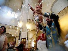 Patriarch Ilia of Georgia becomes Godfather to 800 children